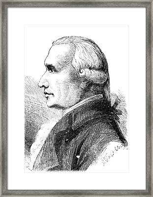 Gaspard Monge Framed Print by Collection Abecasis