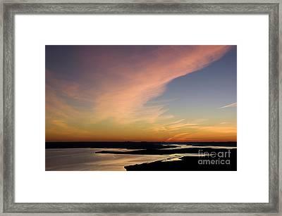 Gaspesie Sunset Framed Print by Colin Woods