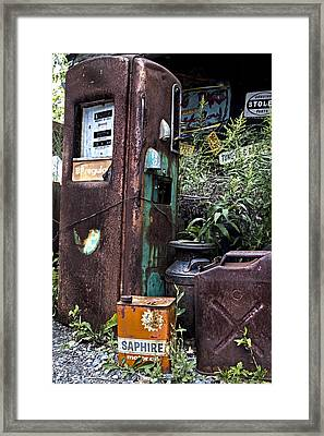 Gassed Framed Print by Peter Chilelli