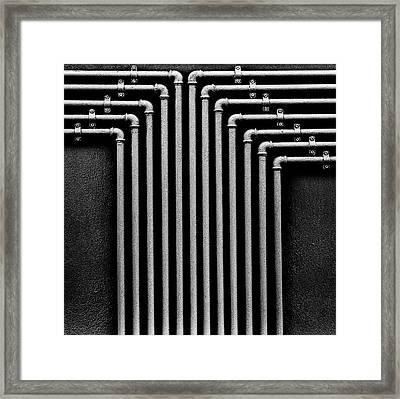 Gasss Framed Print