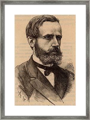 Gaston Plante Framed Print by Universal History Archive/uig