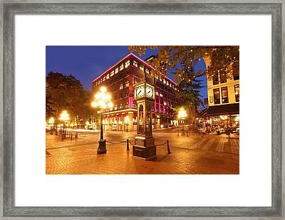 Gastown Framed Print