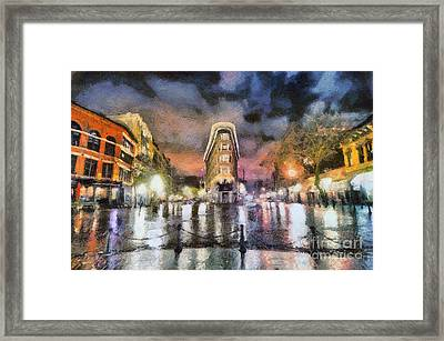 Gastown Framed Print by Jim  Hatch