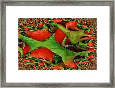 Gastrokunst Framed Print