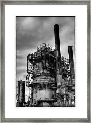 Gasworks Park Framed Print by David Patterson