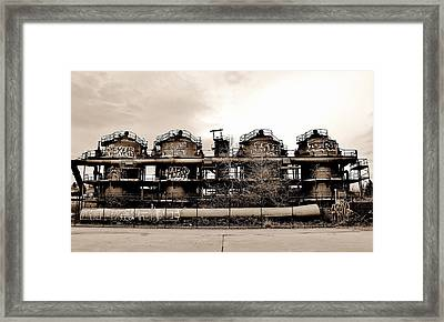 Gasworks Seattle Framed Print