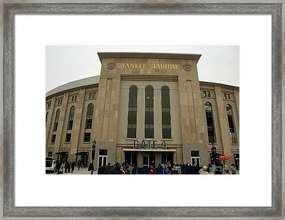 Gate 4 Framed Print
