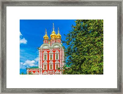 Gate Church Of The Transfiguration Framed Print by Alexander Senin