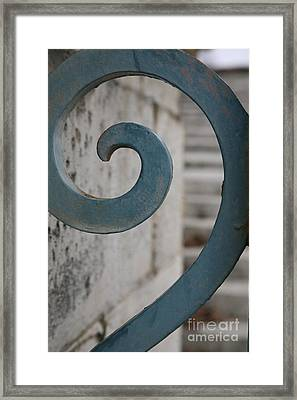 Gate Detail ...versailles Framed Print