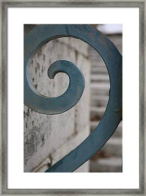 Framed Print featuring the photograph Gate Detail...versailles by Lynn England