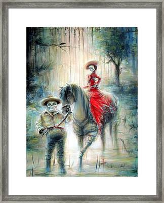 Gate Keeper Framed Print