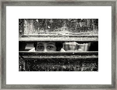 Gate Keeper... Framed Print