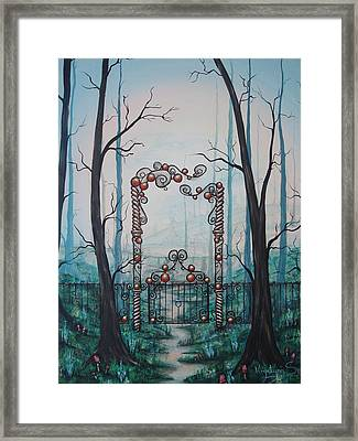 Gate Of Dreams Framed Print