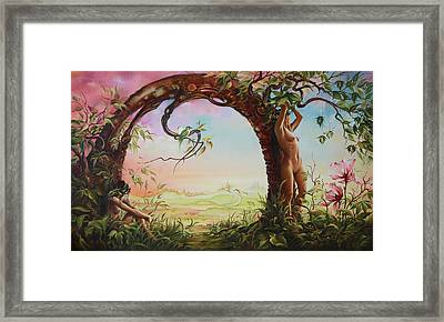 Gate Of Illusion Framed Print