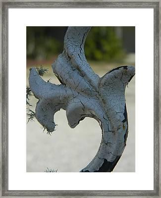 Gate Ornament Framed Print by Tara Miller