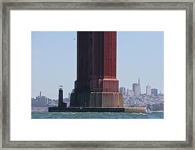Gate Pillar Framed Print by Steven Lapkin