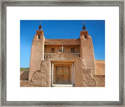 Gate To San Jose De Gracia II Framed Print by Steven Ainsworth