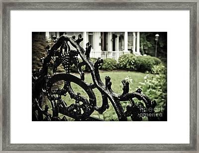 Gated Framed Print by Colleen Kammerer