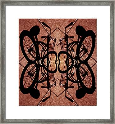 Gates Of Bicycle Heaven 2013 Framed Print