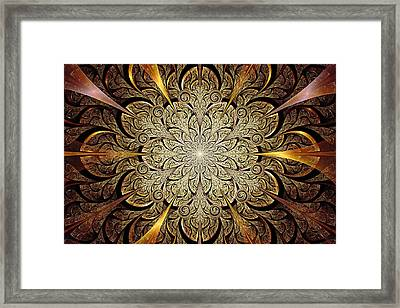 Gates Of Light Framed Print by Anastasiya Malakhova