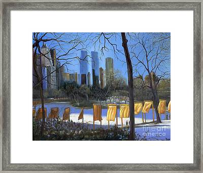 Gates Of New York Framed Print by Marlene Book