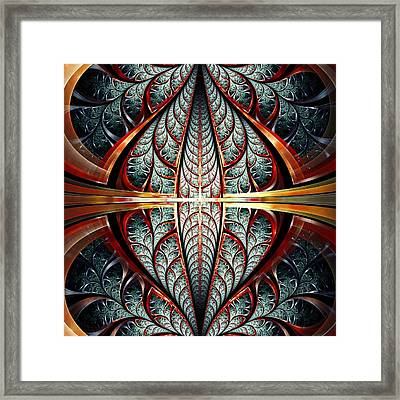 Gates Of Night Framed Print by Anastasiya Malakhova