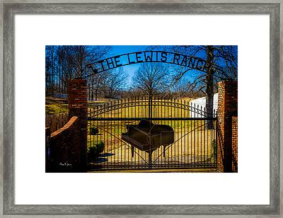 Gates Of Rock And Roll Framed Print