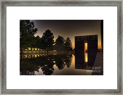 Gates Of Time Framed Print