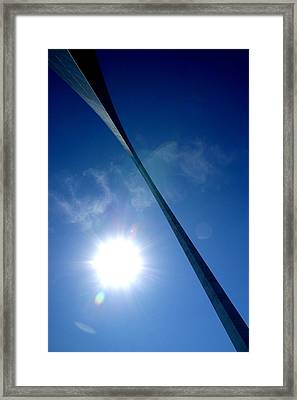 Framed Print featuring the photograph Arch Study 2 by Christopher McKenzie