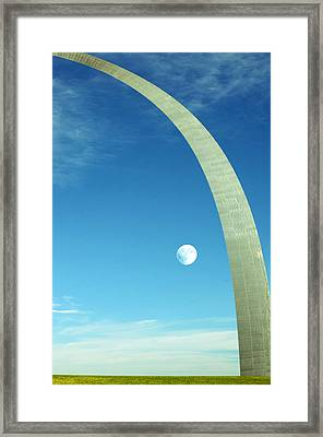 Gateway Arch Framed Print by Steven Michael
