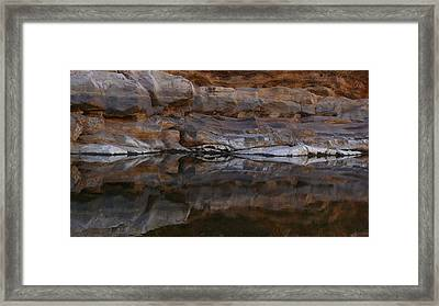 Framed Print featuring the photograph Gateway by Evelyn Tambour