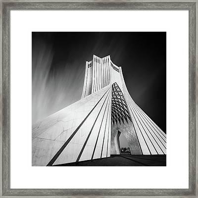 Gateway Into Iran Framed Print