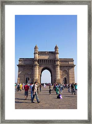 Gateway Of India Framed Print by Mark Williamson
