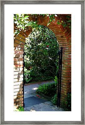 Gateway Framed Print by Tamyra Crossley