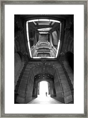 Gateway To A Forgotten Land Framed Print