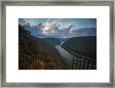 Gateway To Autumn Framed Print