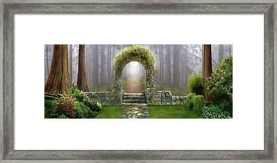 Gateway To Eternity Framed Print by David M ( Maclean )