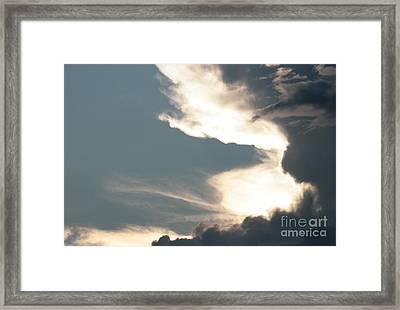 Gateway To Heaven Framed Print by Barbara Bardzik