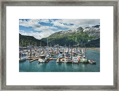 Gateway To Prince William Sound Alaska Framed Print by Kim Hojnacki