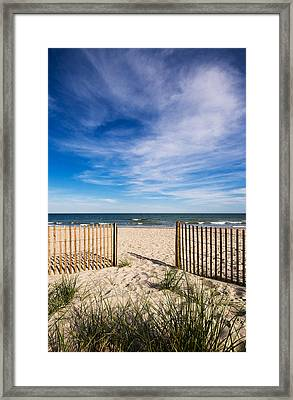 Gateway To Serenity Myrtle Beach Sc Framed Print by Stephanie McDowell