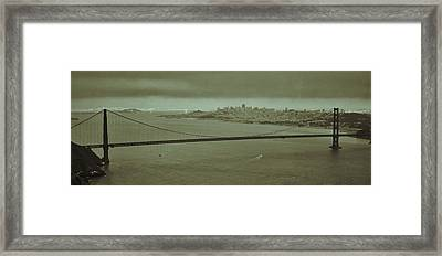 Gateway To The Bay Framed Print by Dave Hall