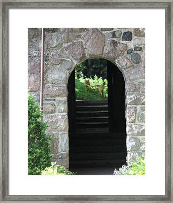 Gateway To The Garden Framed Print