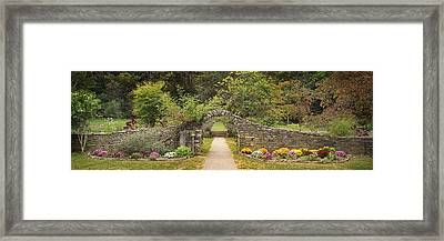 Gateway To The Garden Framed Print by Wendell Thompson