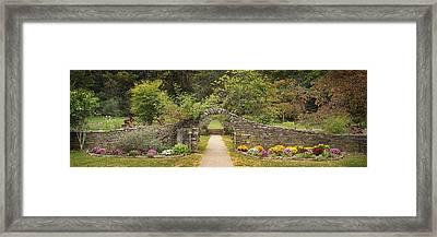 Gateway To The Garden Framed Print