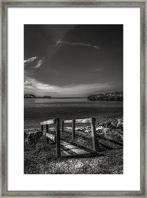 Gateway To The Gulf Framed Print by Marvin Spates