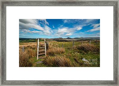 Gateway To The Mountains Framed Print by Adrian Evans