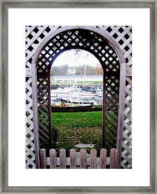 Gateway To The Sea Framed Print by Will Boutin Photos