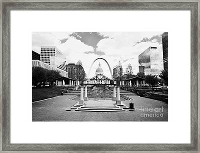 Gateway To The West 2 Framed Print by Rachel Barrett