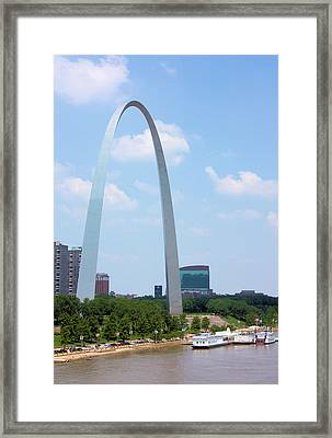 Gateway To The West Framed Print