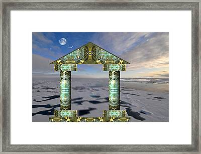 Gateway To Tomorrow Framed Print